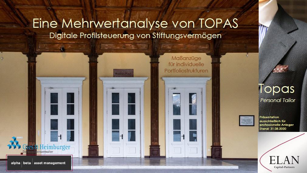 TOPAS Personal Tailor – Eine Mehrwertanalyse