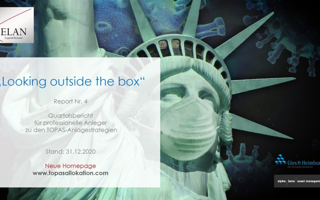 """TOPAS Report Nr. 4: """"Looking outside the box"""""""