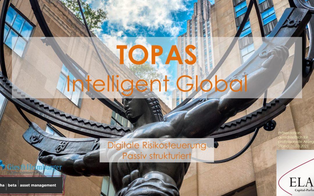 TOPAS Intelligent Global- Effiziente ETF-Strategien